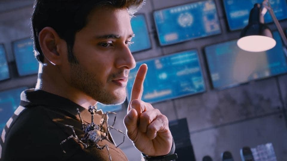 In Spyder, Mahesh Babu plays an Intelligence Bureau officer.