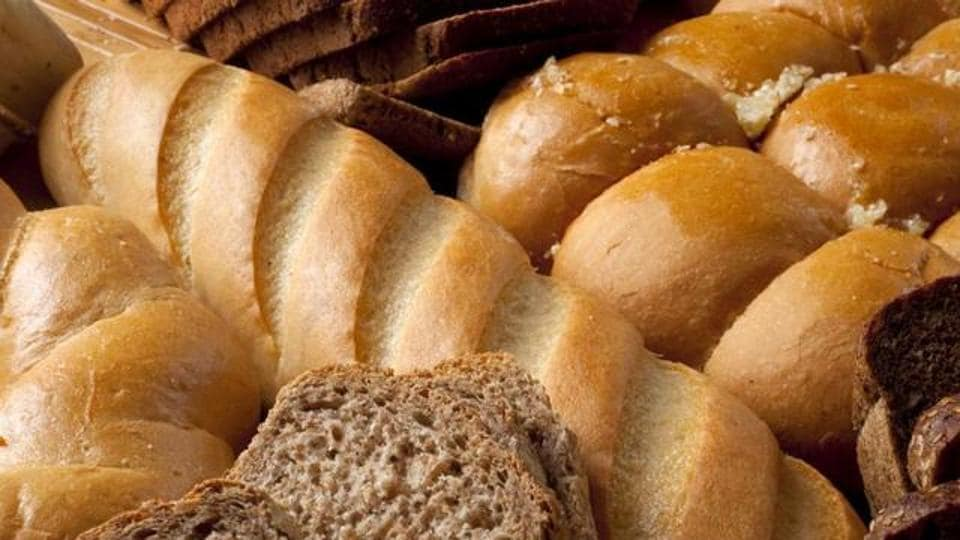 Foods like breads contain carbs.