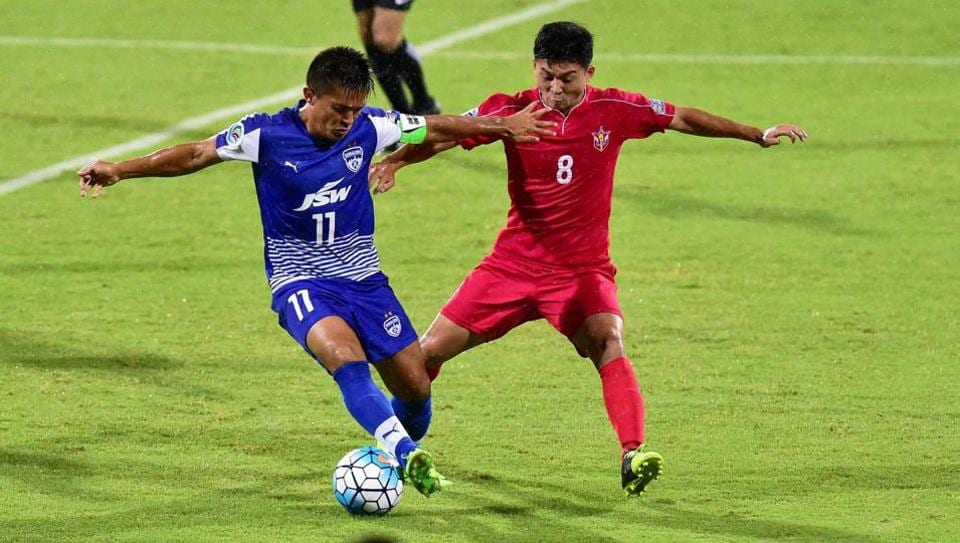Bengaluru FC will take on 4.25 SC of North Korea in Pyongyang in an AFC Cup match .