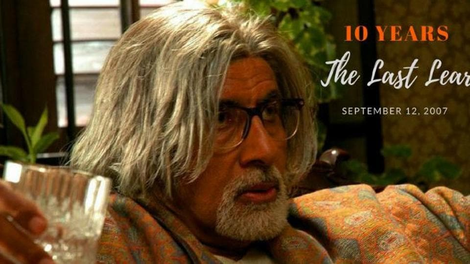 Amitabh Bachchan worked with Rituparno Ghosh in The Last Lear.