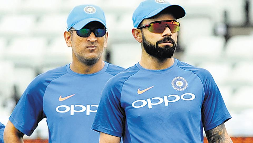 India captain Virat Kohli, right, and former skipper MS Dhoni remain highly popular with fans in the sub-continent, especially Pakistan which is hosting a World XI in a series of T20 matches in Lahore