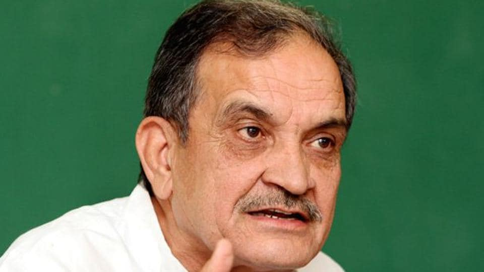 Union steel minister Chaudhary Birender Singh.
