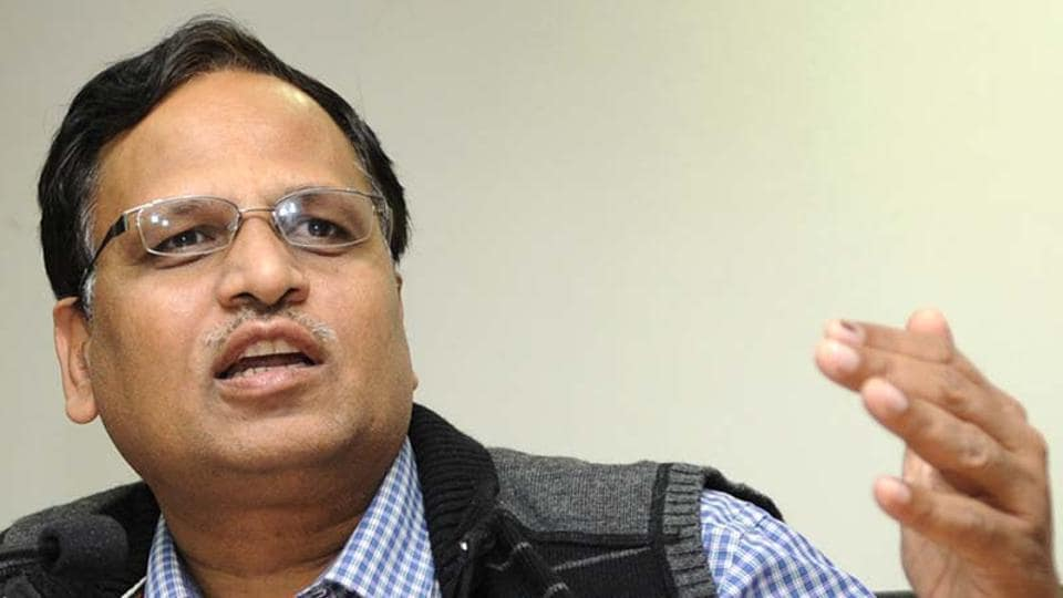 Delhi news,Satyendar Jain,Health minister