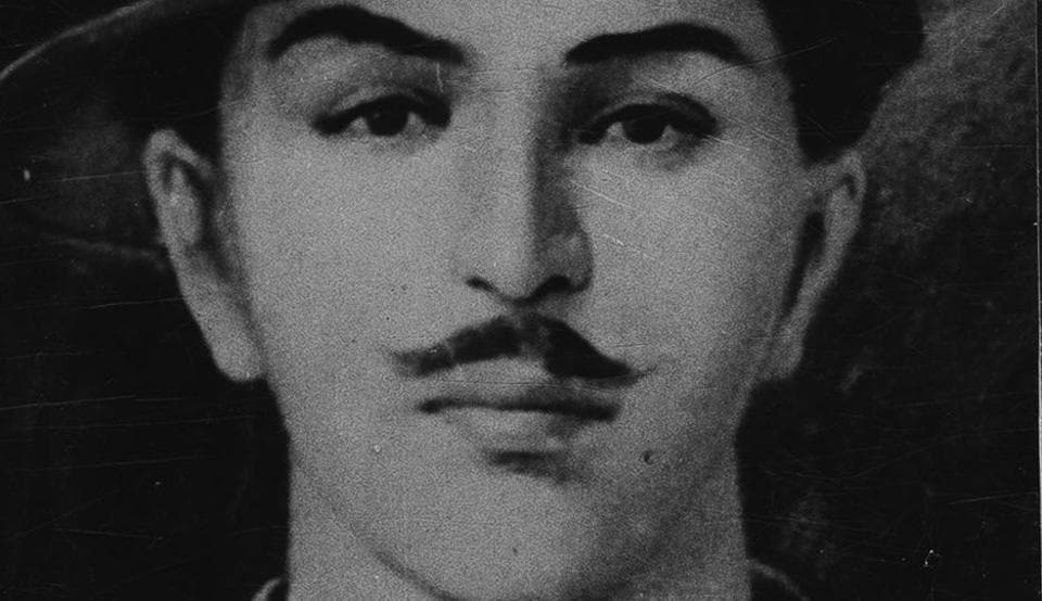 Freedom fighter Bhagat Singh.