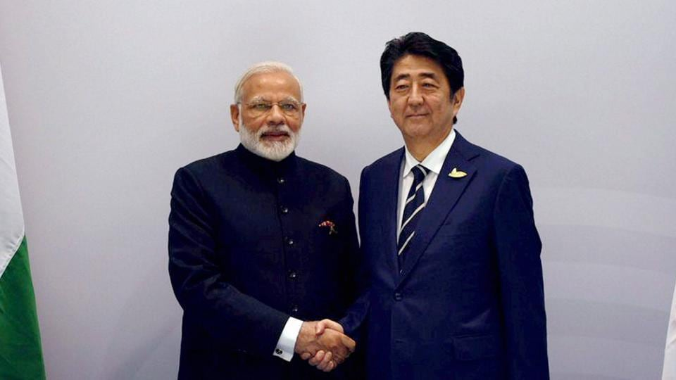 Shinzo Abe,Narendra Modi,bullet train