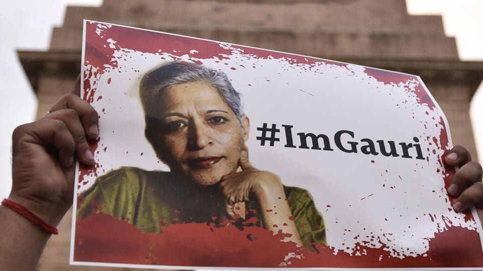 A candle-light vigil in memory of journalist Gauri Lankesh. Lankesh's murder cannot merely feed the mills of gossip, of family quarrels, of CBI incompetence, of politicians shedding crocodile tears. Democracy and civil society need to be more inventive.