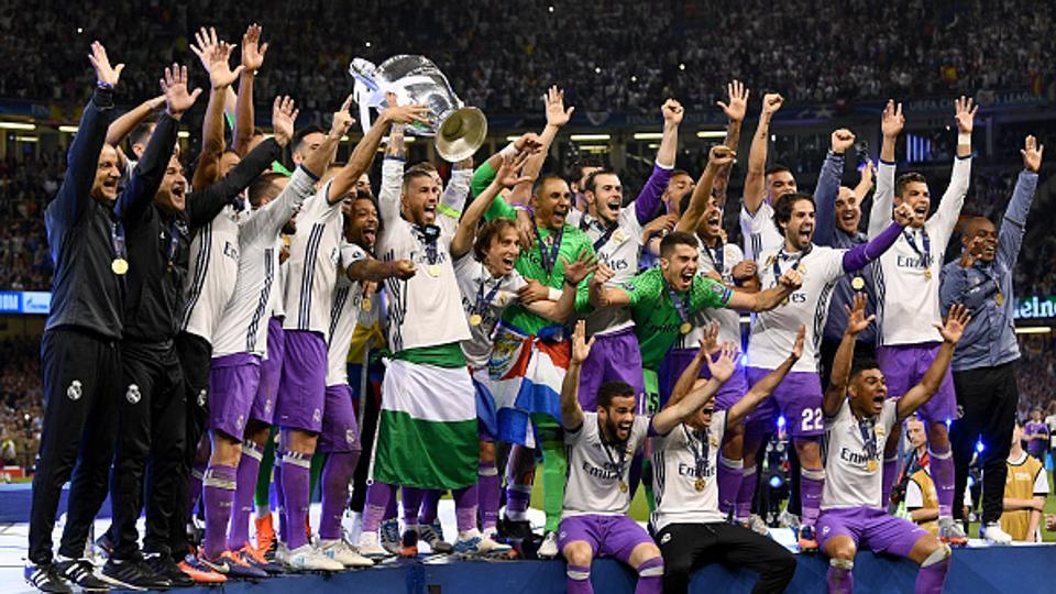 Real Madrid Champions League History