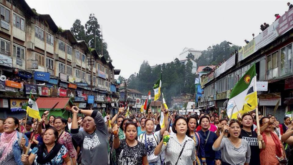 Gorkhaland,Gorkhaland protests,Darjeeling