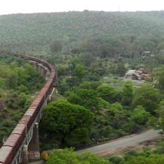 Rajasthan news,Mukundra reserve,Land use change