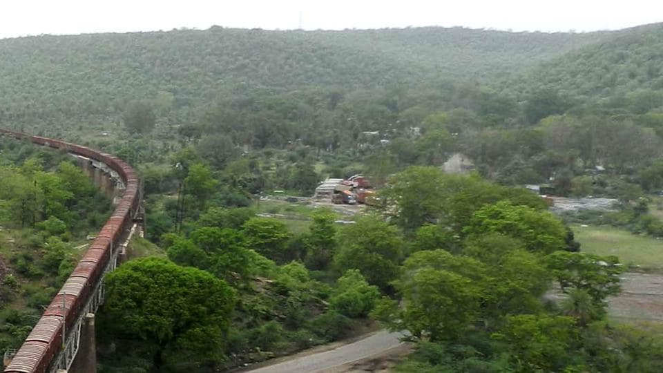 The Mukundra Hills Tiger Reserve.