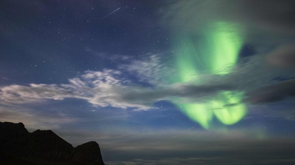 The eye-catching Northern Lights have been visible in some parts of the Arctic circle of Norway. While the sun, the moon and the stars are visible from everywhere and natural parts of our everyday life, the Northern Lights can only be seen in particular areas and between September to March. (Jonathan Nackstrand / AFP)