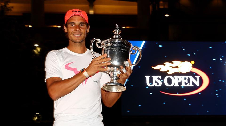 Rafael Nadal, who is currently the world No.1, clinched his 16th Grand Slam title when he defeated Kevin Anderson in the USOpen final 2017
