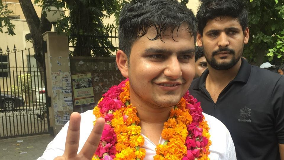 DUSU president Rocky Tuseed, a student of MA (Buddhist Studies), later challenged the decision in the Delhi High Court, and got relief.