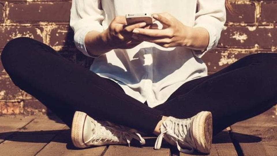 Teenagers prefer interacting with each other online.