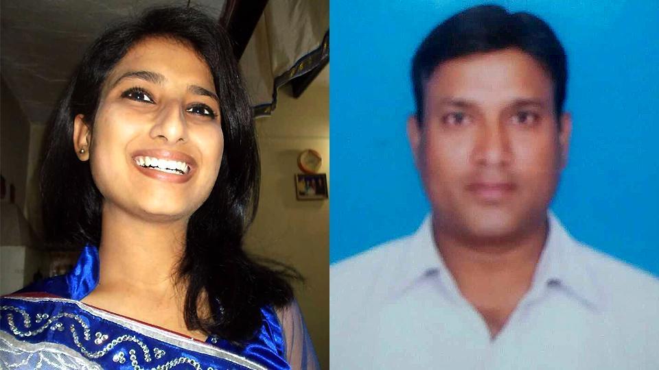 Yukti Chabbra and her father Suresh Kumar.