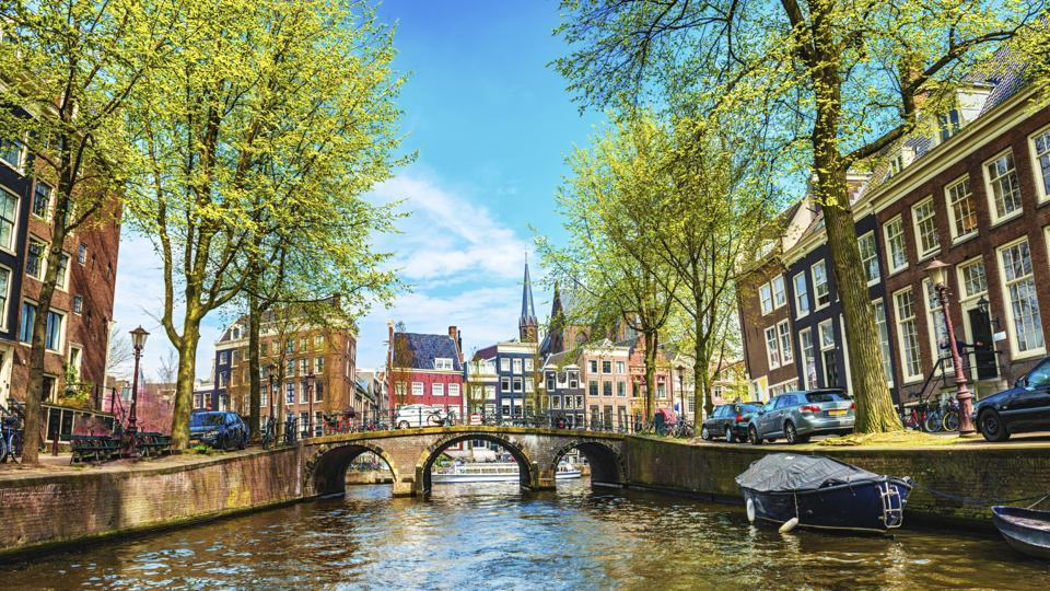 Amsterdam boasts of a UNESCO protected canal ring.