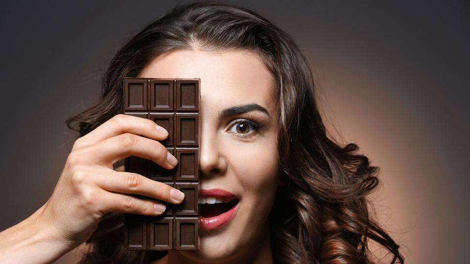 Dark chocolate is also pre-loaded with decent amounts of soluble fibre.