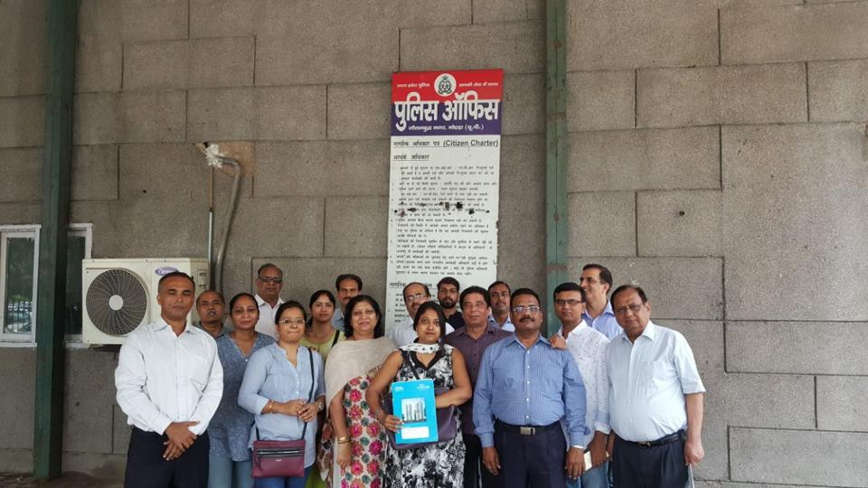 Amrapali Heart Beat City homebuyers met with SSP in Noida.