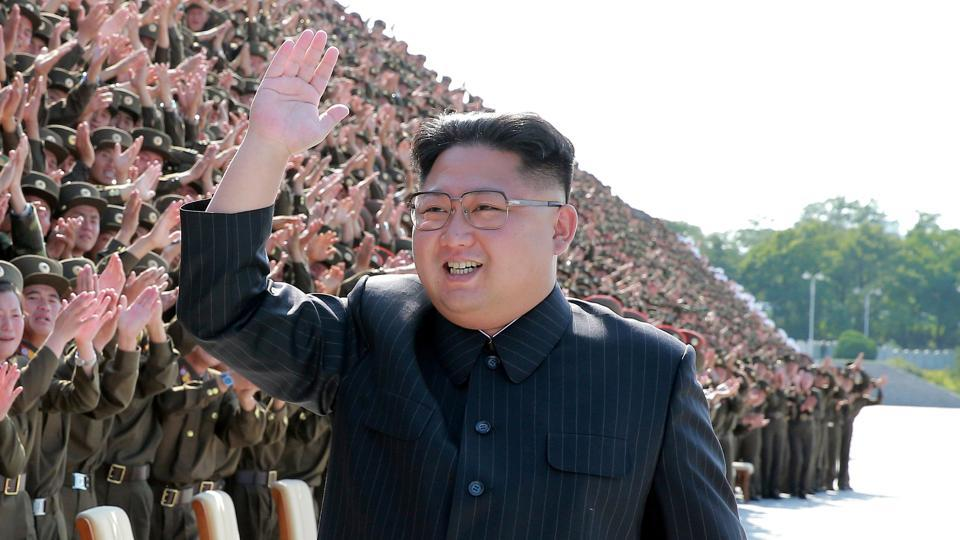 North Korea retaliated with a vow to accelerate its weapons programme in response to the 'evil' sanctions imposed by the UN Security Council on Monday, after the North's supposed hydrogen bomb test. 'The adoption of another illegal and evil 'resolution on sanctions' piloted by the US served as an occasion for the DPRK to verify that the road it chose to go down was absolutely right,' the North's foreign ministry said in a statement published by the official KCNA news agency. (KCNA / REUTERS)