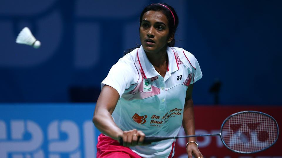 PVSindhu didn't break a sweat while beating Ngan Yi Cheung of Hong Kong to enter the pre-quarterfinals of the Korea Open Super Series badminton tournament in Seoul on Wednesday.