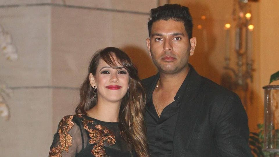 Cricketer Yuvraj Singh and actor Hazel Keech got married in November 2016.