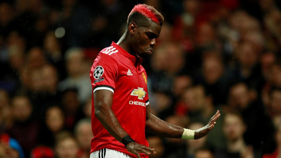 Paul Pogba was taken off after just 18 minutes as he suffered a hamstring injury during the UEFAChampions League encounter between Manchester United F.C. and FCBasel.