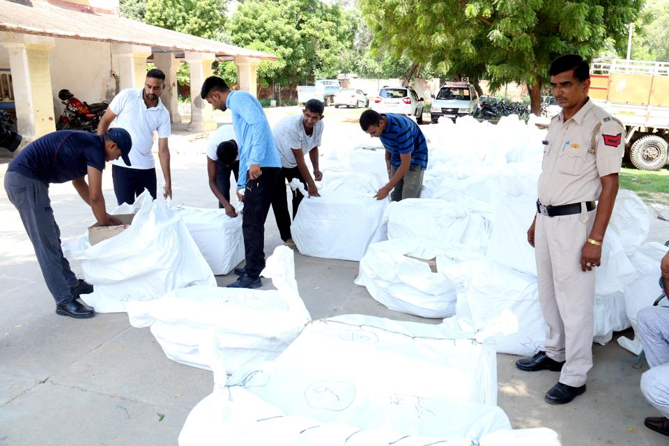 A team of policemen keeping vigil on the premises of the dera found Kumar trying to hide the hard disks by digging a hole in the ground behind the dera's headquarters.