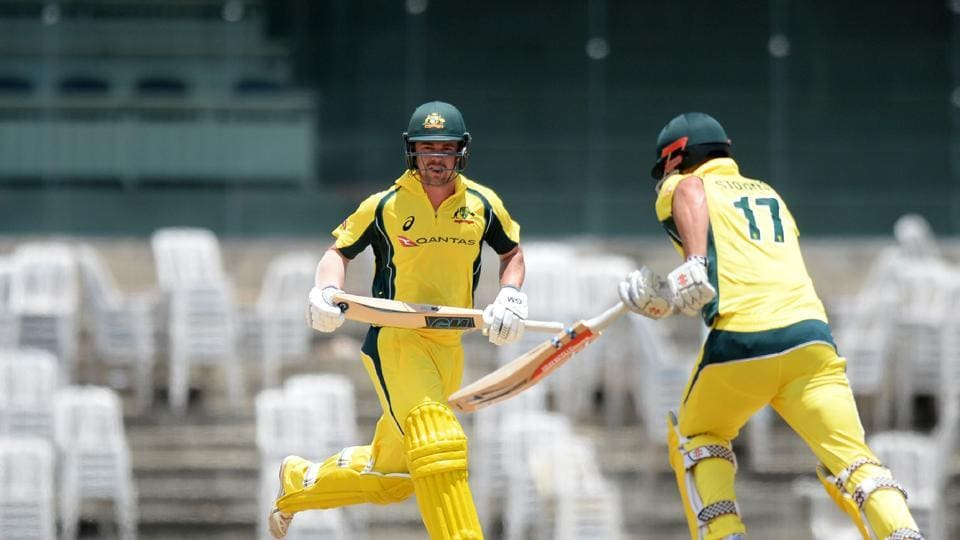 Head was ably assisted by Marcus Stoinis as Australia rebuilt the innings.  (AFP)