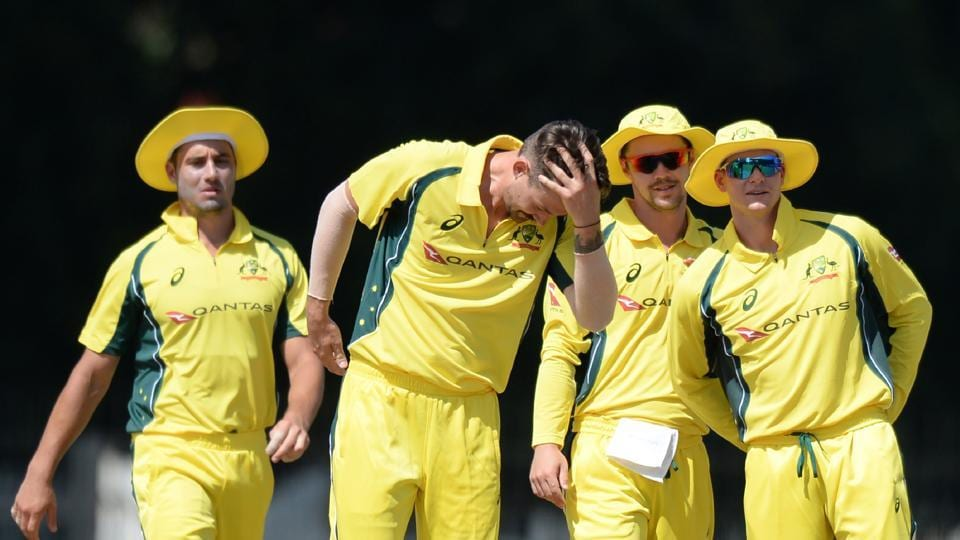 Australia's bowlers put in a fine show as they defeated Board President's XI by 103 runs to give themselves good momentum ahead of the ODI series against India starting on September 17. (AFP)