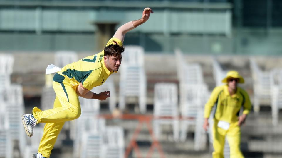With Stoinis taking the wicket, the floodgates opened and Board President's XI lost wickets at regular intervals.  (AFP)