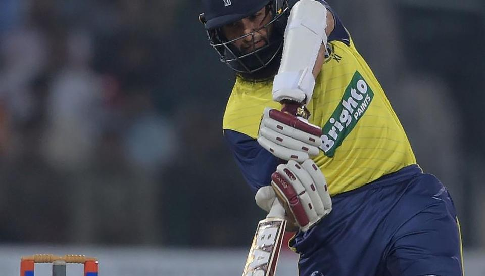 World XI batsman Hashim Amla scored an unbeaten 72 to help his side to a victory in the Independence Cup second T20 against Pakistan cricket team in Lahore on Wednesday.