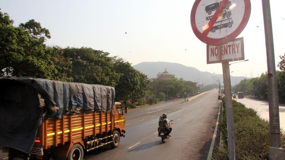 The order was passed by the city's traffic police on Tuesday.