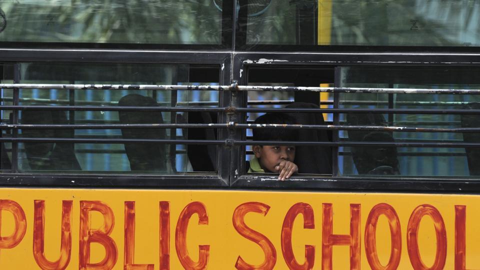 Private schools in Noida and Ghaziabad have increased security,vigilance in school premises.