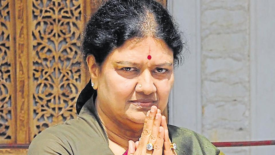 Sasikala is lodged at the central jail at Parapanagrahara since February after the Supreme Court convicted her and two others in disproportionate assets case.