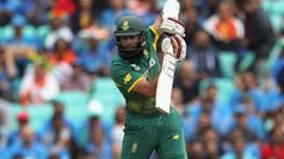Hashim Amla in action during the Pakistan vs World XI second T20 in Lahore. Catch full cricket score of Pakistan vs World XI, 2nd T20, Lahore here