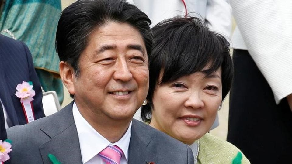 Japan's Prime Minister Shinzo Abe and his wife Akie  will be treated to a Gujarati vegetarian platter during the visit to India. (REUTERS File Photo)