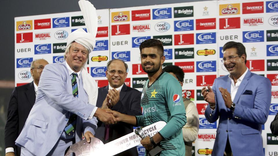 International cricket returned to Pakistan after a gap of two years and Babar Azam's sparkling knock gave the hosts a wonderful win over the ICC World XI in the first Twenty20 International in Lahore.