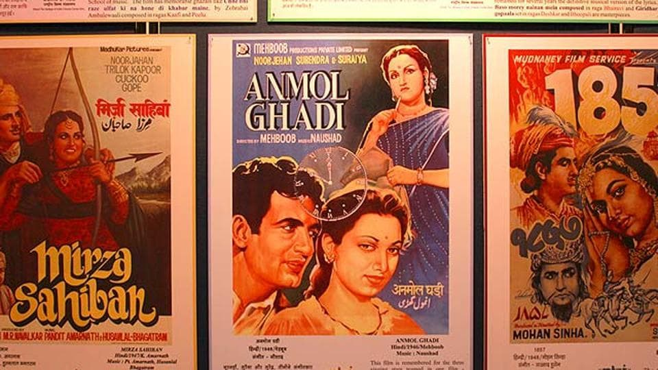 A poster exhibition at National Film Archive of India , Pune