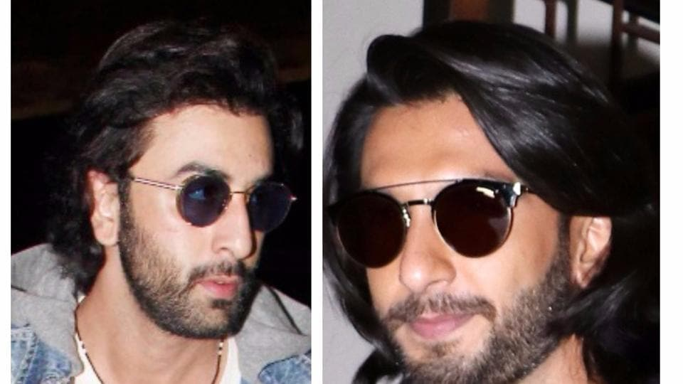 What do you guys think of the cool hairstyle sported by Ranveer and Ranbir?