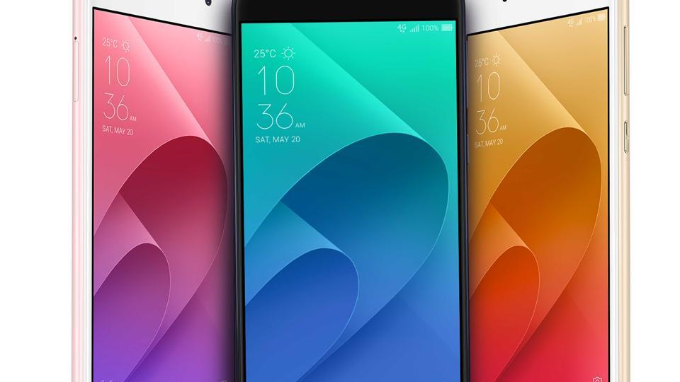 Check out the new selfie smartphones from Asus.