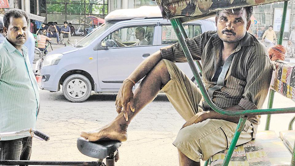 Delhi news,Delhiwale,Rickshaw puller