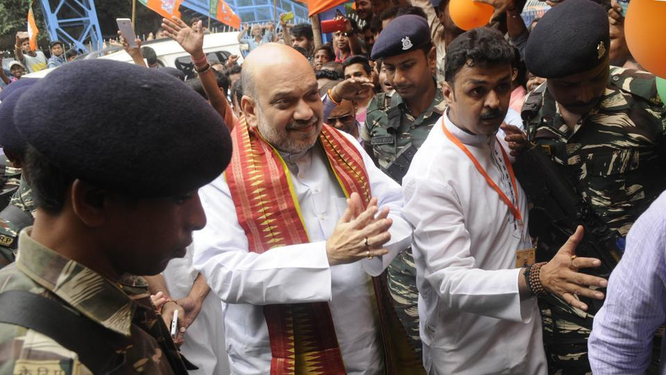 BJP president Amit Shah was in Bengal for a three-day tour. The body of the local leader who the party says was killed by suspects linked to the ruling Trinamool Congress was found on Monday, the first day of Shah's visit.