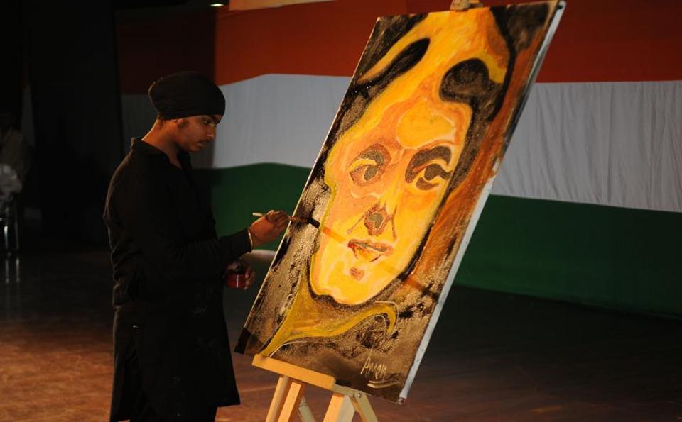 Jawaharlal Nehru University,Uttar Pradesh Congress,Former Prime Minister the late Indira Gandhi.