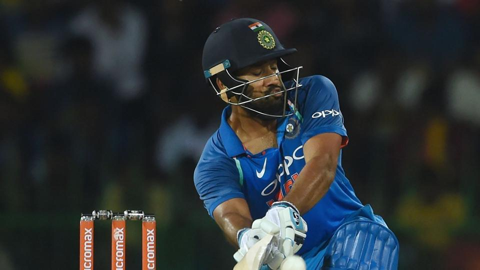 Indian cricketer Rohit Sharma has made an international comeback after undergoing a thigh surgery.