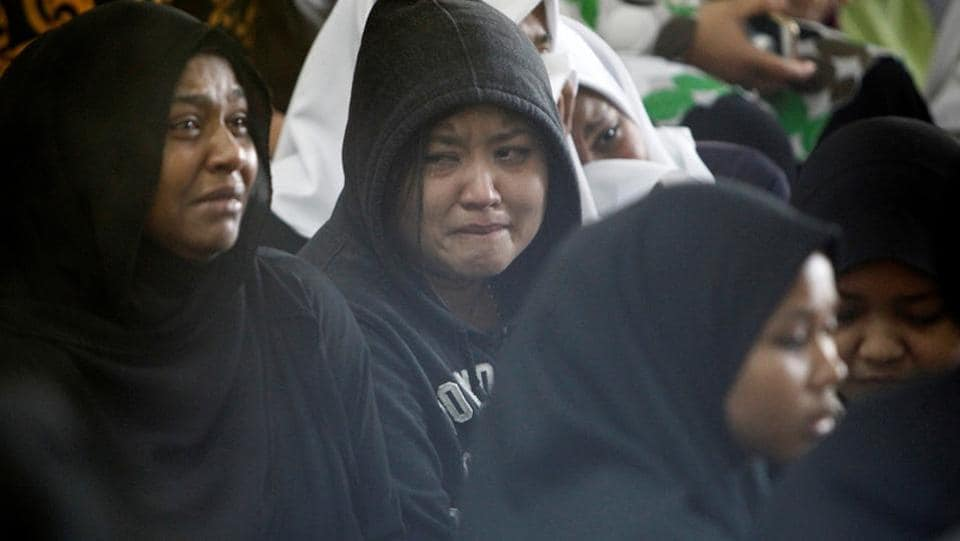 Twenty-five people, largely  students, were killed on Thursday when a blaze tore through a religious school in Malaysia, in what officials said was one of the country's worst fire disasters in years. (Lai Seng Sin / REUTERS)