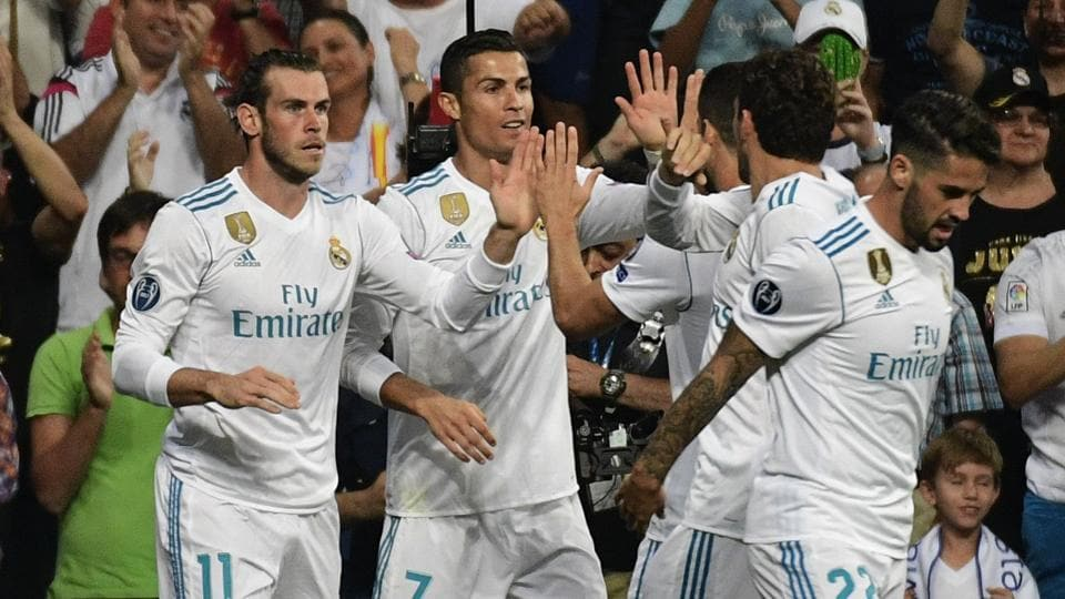 Cristiano Ronaldo returned in style after a five-game suspension as he scored twice for Real Madrid C.F. in their UEFAChampions League clash against APOELNicosia
