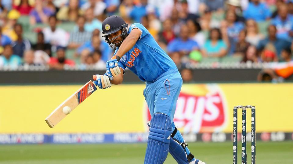With scores of 171, 209 and 138, Rohit Sharma has a habit of scoring massive hundreds against Australia. He will once again be the key in this series for India. (Getty Images)