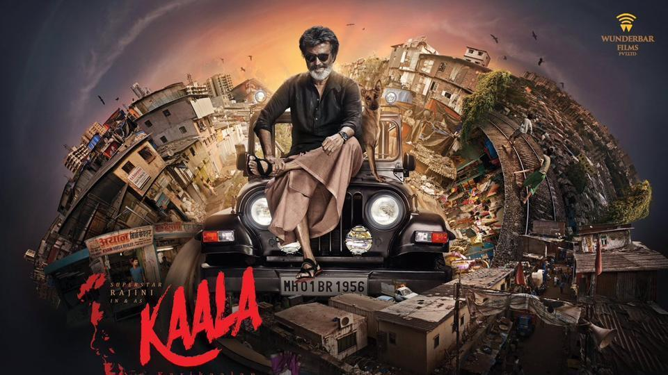 Kaala Karikaalan is based in Mumbai and is about a Tamil gangster.