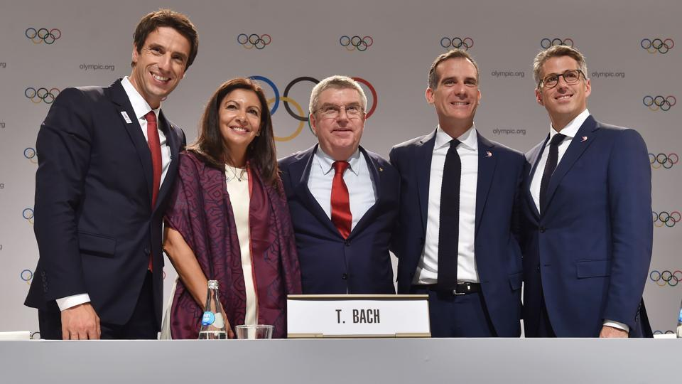 Paris and Los Angeles were officially crowned by the International Olympic Committee as the hosts of the 2024 and 2028 Olympic Games, respectively.