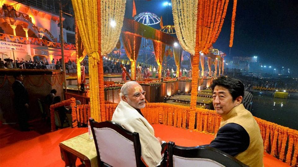 In the run up to the Gujarat elections, this visit comes as an assertion of Japan's interest in India. It ranks the third highest in cumulative FDIs (Foreign Direct Investment) to India and according to officials, 15 more Japanese firms have committed to invest in Gujarat this time and the MoUs (Memorandum of Understanding) will be signed during the Modi-Abe summit. (PTI)